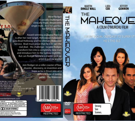 The Makeover DVD Sleeve